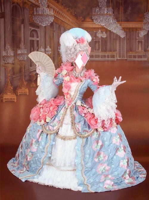 マリー・アントワネットのドレスについて