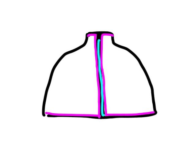 ケープの作り方