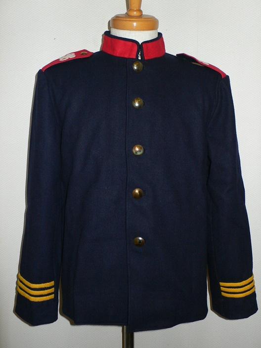 細身のハイネックのジャケット改造について