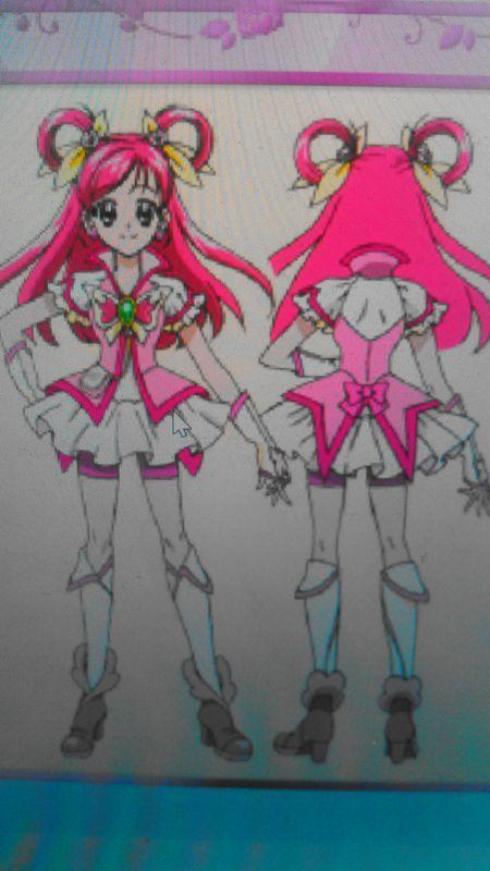 Yes!プリキュア5GoGo! キュアドリームの衣装製作について