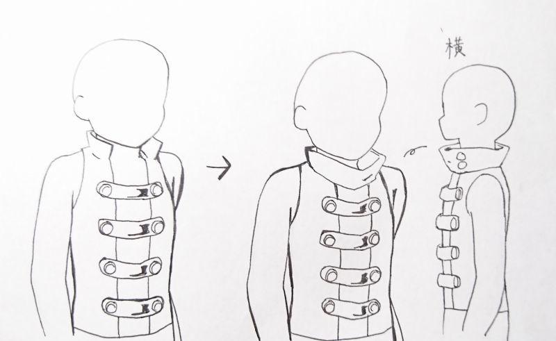 「世界樹の迷宮Ⅴ」リーパーの衣装作成について