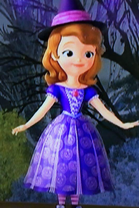 ちいさなプリンセスソフィアのドレスについて