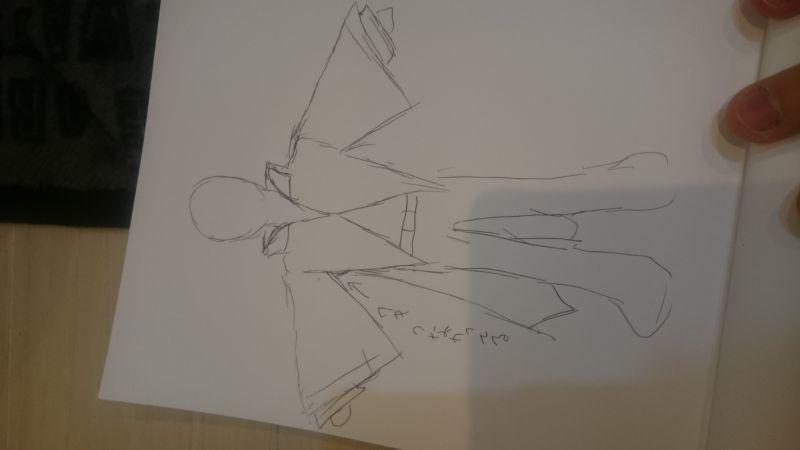 市丸ギンのコートの袖の改造の仕方について