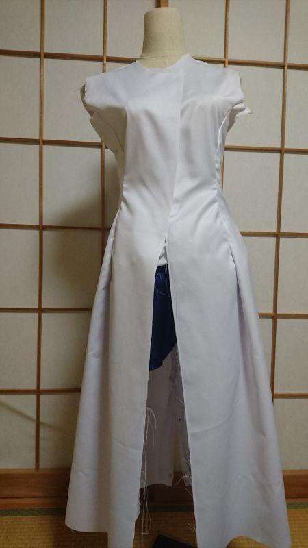 プリンセスコートの裏地付き+肩パッド