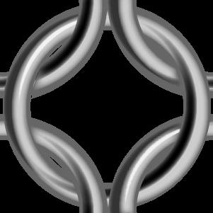 鎖帷子(テェーンメイル)の表面画像