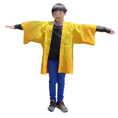 コスプレ用子供羽織の型紙