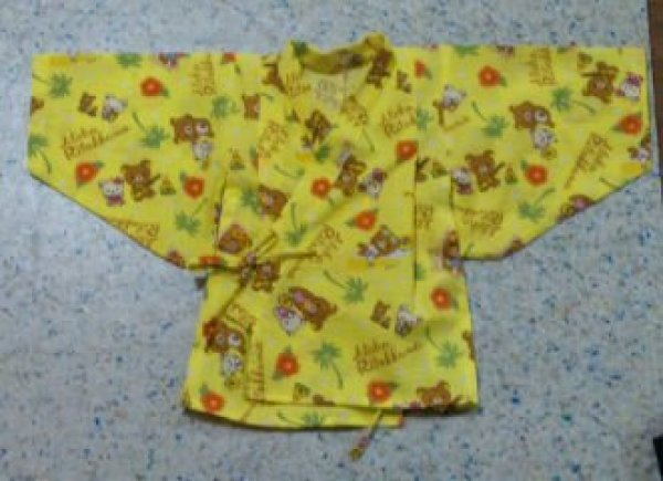 画像1: 【無料】子供用甚平型紙 70・90サイズ (1)