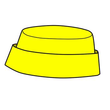 画像1: 【無料】簡易ギャリソンハットの型紙(無料の型紙)